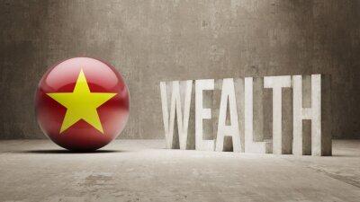 Vietnam. Bohatství Concept.