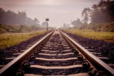 Fototapeta vinobraní železnice