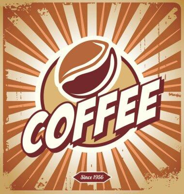 Fototapeta Vintage Coffee Sign