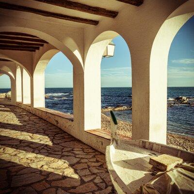 Fototapeta Vintage Costa Brava
