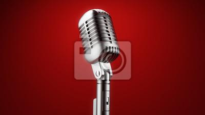 Vintage mikrofon