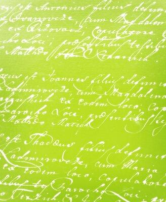 Fototapeta vintage ručně psaný dopis
