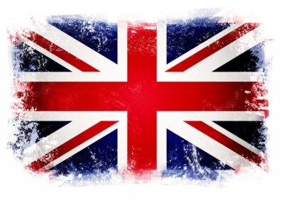 Fototapeta Vlajka Spojeného království