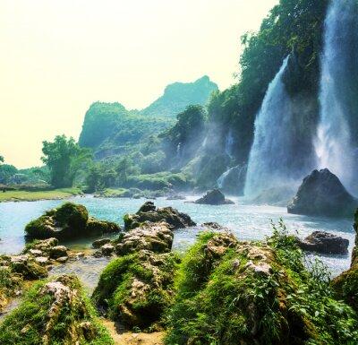 Fototapeta Vodopád ve Vietnamu