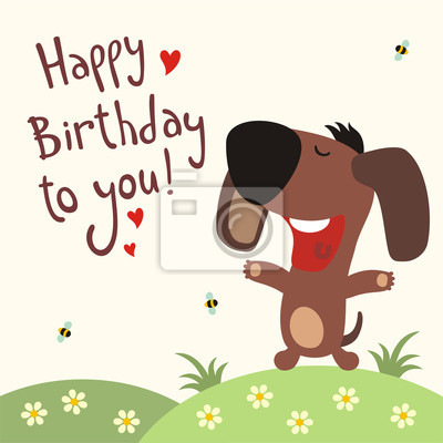všechno nejlepší k narozeninám píseň Všechno nejlepší k narozeninám! funny štěně zpívá píseň všechno  všechno nejlepší k narozeninám píseň