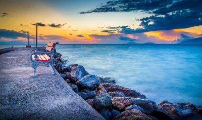 Fototapeta Východ slunce na ostrově Kos