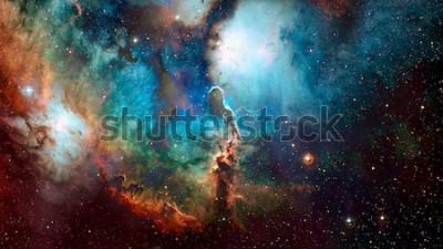 Fototapeta Vysoce kvalitní pozadí vesmíru. Prvky tohoto obrázku poskytnuté NASA.