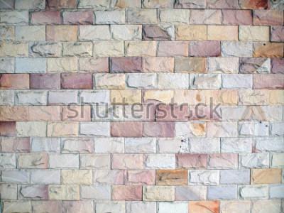 Fototapeta Vzory na cihlové zdi