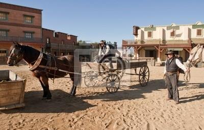 4751bf69b Fototapeta Westernové městečko Film nastavit na Mini Hollywood Španělsku
