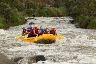 Fototapeta Whitewater River Rafting Adventure