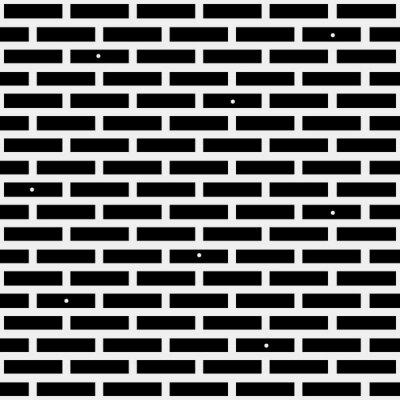 Fototapeta Geometrické jednoduchá černá a bílá minimalistický vzor, zděný. Může být použit jako tapety, pozadí nebo textury.