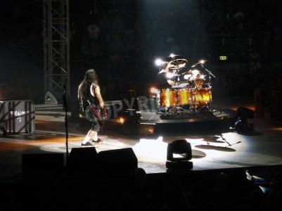 Fototapeta Koncert kapely â € œMetallicaâ €, Řím 24. června 2009. jevištní