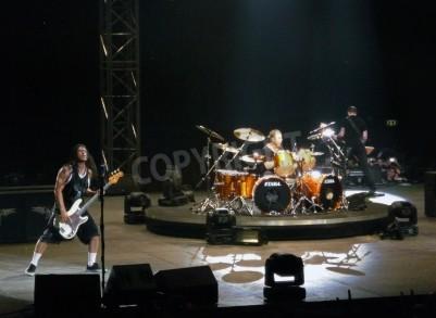 Fototapeta Koncert kapely â € œMetallicaâ €, Řím 24. června 2009. kapely.