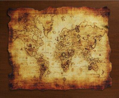 Fototapeta 宝の地図/古い地図