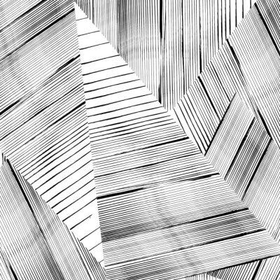 Fototapeta Pozadí abstraktní geometrický vzor, s tahy a postříkání