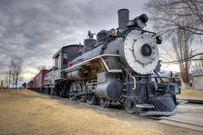 Fototapeta Zákony vlak