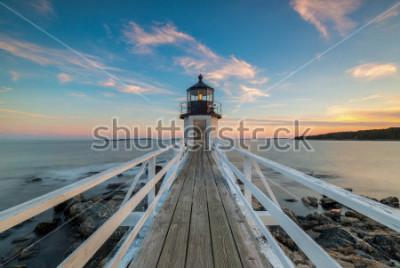 Fototapeta Západ slunce Marshall Point Lighthouse