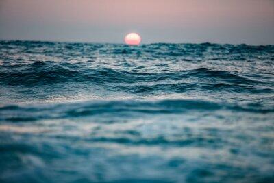 Fototapeta Západ slunce v oceánu