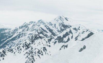 Fototapeta zasněžené hory