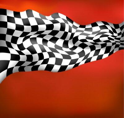 Fototapeta závodní pozadí rovinka wawing