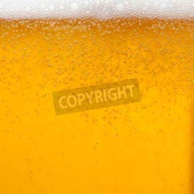 Fototapeta Zavřít z sklenici piva