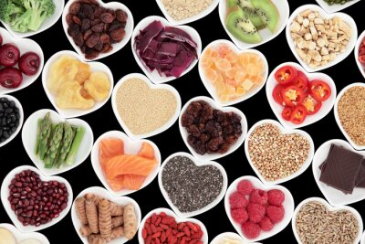 Fototapeta zdravá výživa