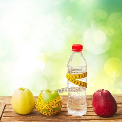 Fototapeta Zdravé jídlo na stůl