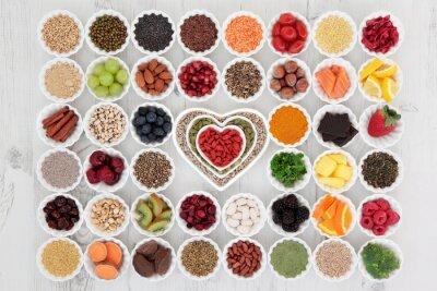 Fototapeta zdravé superfood