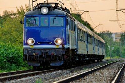 Fototapeta Železniční doprava