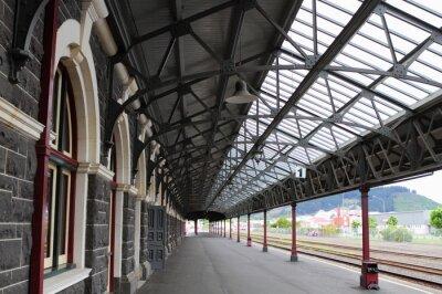 Fototapeta Železniční stanice Dunedin