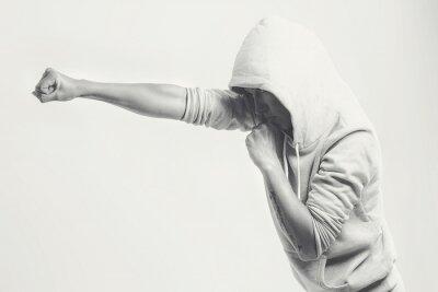 Fototapeta Ženy tréninkové údery