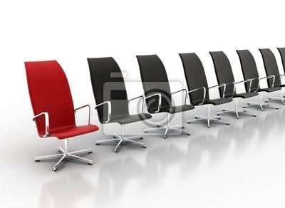Židle v řadě - podnikatelský záměr