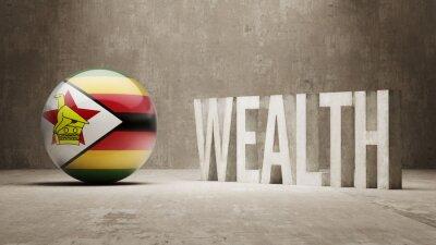 Zimbabwe. Bohatství Concept.