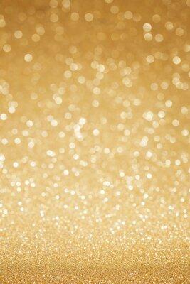 Fototapeta Zlaté třpytky abstraktní pozadí