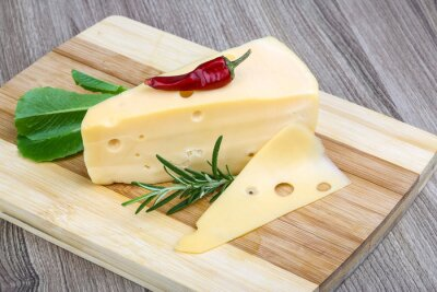 Fototapeta žlutý sýr