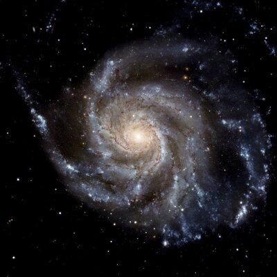 Fototapeta Zobrazit obrázek systému Galaxy izolované prvky tohoto obrázku zařízený NASA