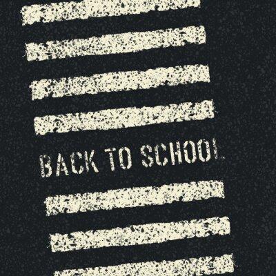 Fototapeta Zpátky do školy. Vector.