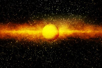Fototapeta Zrození hvězdy