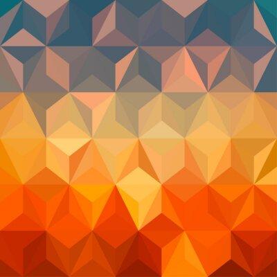Nálepka Abstract barevné pozadí design