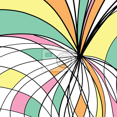Abstract drawing background