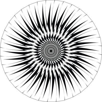 Nálepka Abstract Geometrické design. vektor pozadí