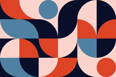 Nálepka Abstract Geometry Pattern Artwork