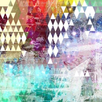 Nálepka Abstract grunge styl pozadí s nouzi účinkem