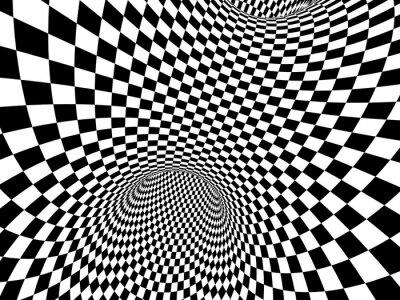Nálepka Abstrakt iluze
