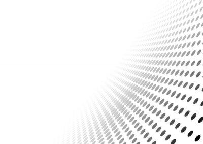 Nálepka Abstrakt tečkované Perspektiva pozadí - efekt přechodu ilustrace, Vector