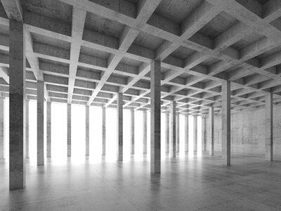 Nálepka Abstraktní architektura pozadí 3 d