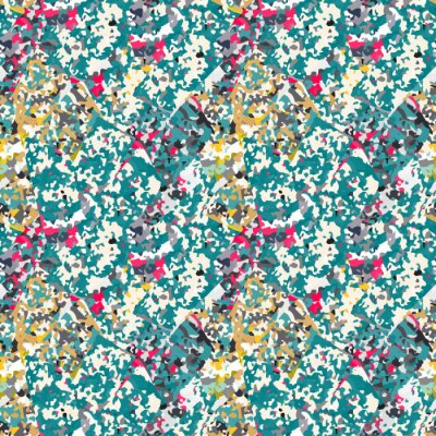 Nálepka Abstraktní bezproblémové vzorek s barevným šumem