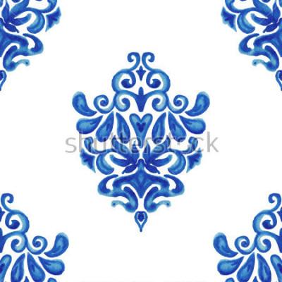 Nálepka Abstraktní exkluzivní ozdobné dlaždice vzor pro tkaniny