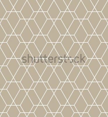 Nálepka Abstraktní geometrický vzor s linkami. Bezešvá vektorová pozadí. Grafický moderní vzor.