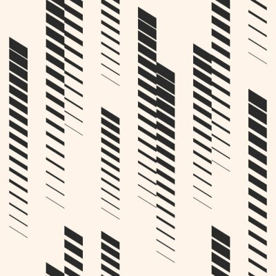 Nálepka Abstraktní grafický bezešvý vzor s vertikálními liniemi, stopy, polotónové pruhy. Sportovní vzor. Urban vzor.